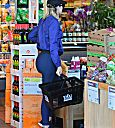 Khloe Kardashian at Whole Foods