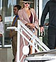 Khloe Kardashian at Miami airport