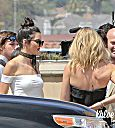 Khloé Kardashian  at Del Mar Thoroughbred Club