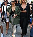 Khloé Kardashian Kim and Kris shopping on Rodeo Drive