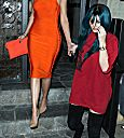 Khloe Kardashian dinner at Koi restaurant