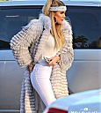 Khloe Kardashian at Nobu Restaurant