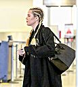 Khloé Kardashian at lax aiport to heading Cleveland
