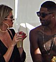 Khloe Kardashian and Tristan Thompson out in Beverly Hills