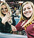 Khloé Kardashian at Cavs game