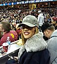 Khloé Kardashian at Cleveland Cavaliers vs. Knicks game