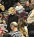 Khloe Kardashian Cavs game  party