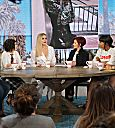 Khloé Kardashian at the Talk on CBS