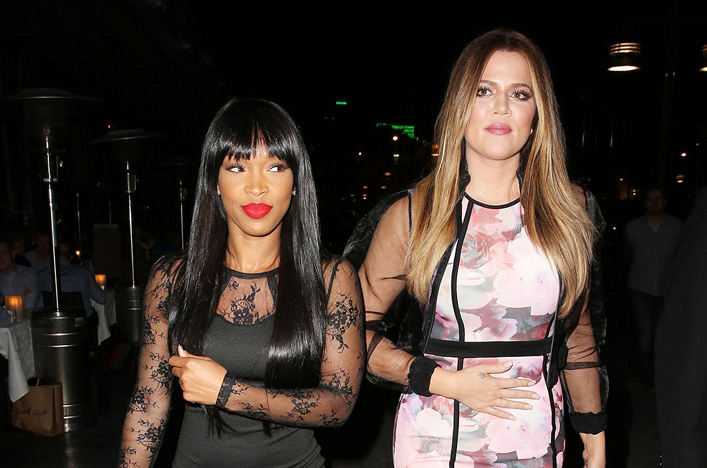 (26 PHOTOS)  Khloe Kardashian and Malika arrives at Otto restaurant in Sydney
