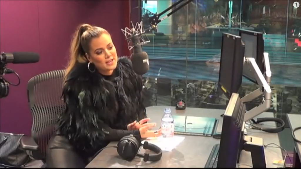 (VIDEO) Khloe Kardashian Chats With Nick Grimshaw