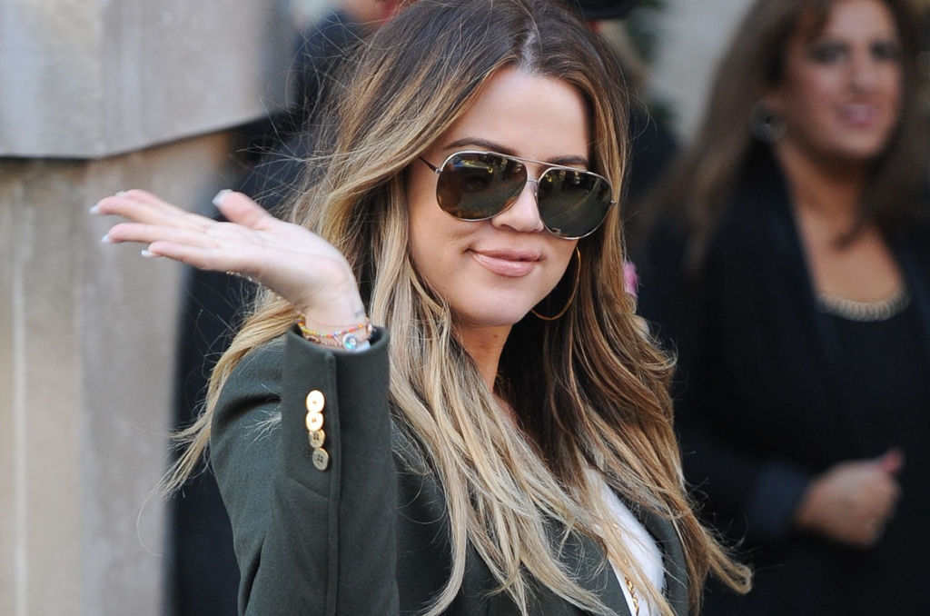 (156 PHOTOS + VIDEO) Khloe Kardashian arrives at Langham Hotel in London