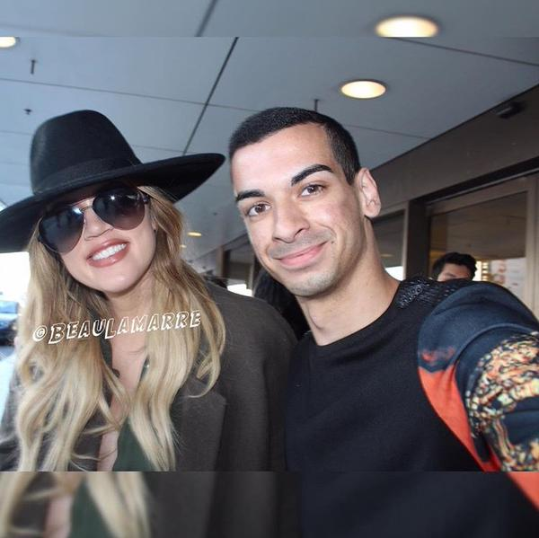 (PHOTOS) August 03, 2015: Khloe leaving Sydney, Australia