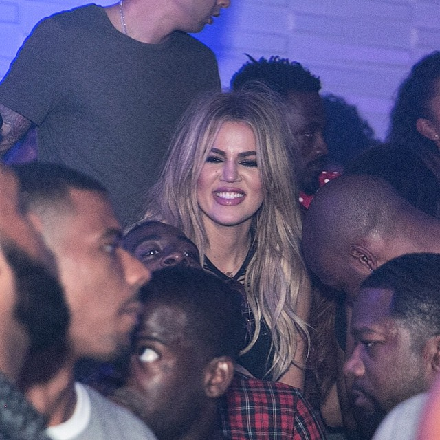 (PHOTOS+VIDEOS) August 14, 2015: Khloe at AristocratLife ENGINE Room  in Houston