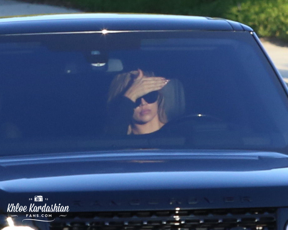 May 23: Khloe driving in Los Angeles