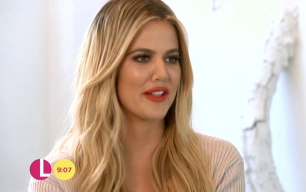 (VIDEO) Khloé interview on ITV Lorrain