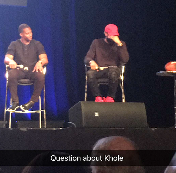 Odell Beckham Jr. asked about Khloe Kardashian at Giants Town Hall