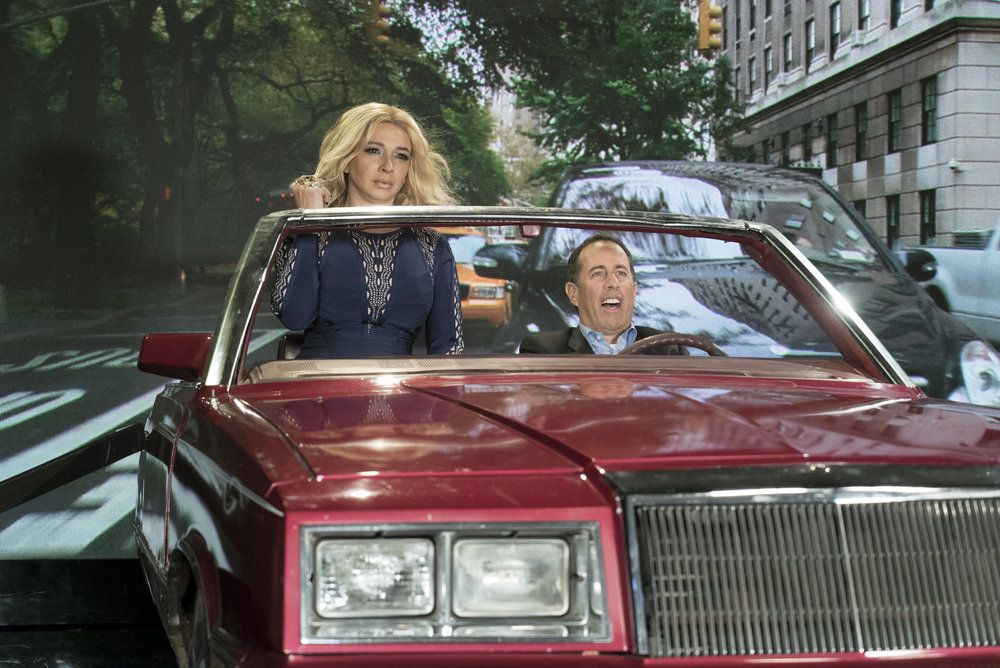Maya Rudolph Channels Khloé Kardashian in Ride-Along with Jerry Seinfeld