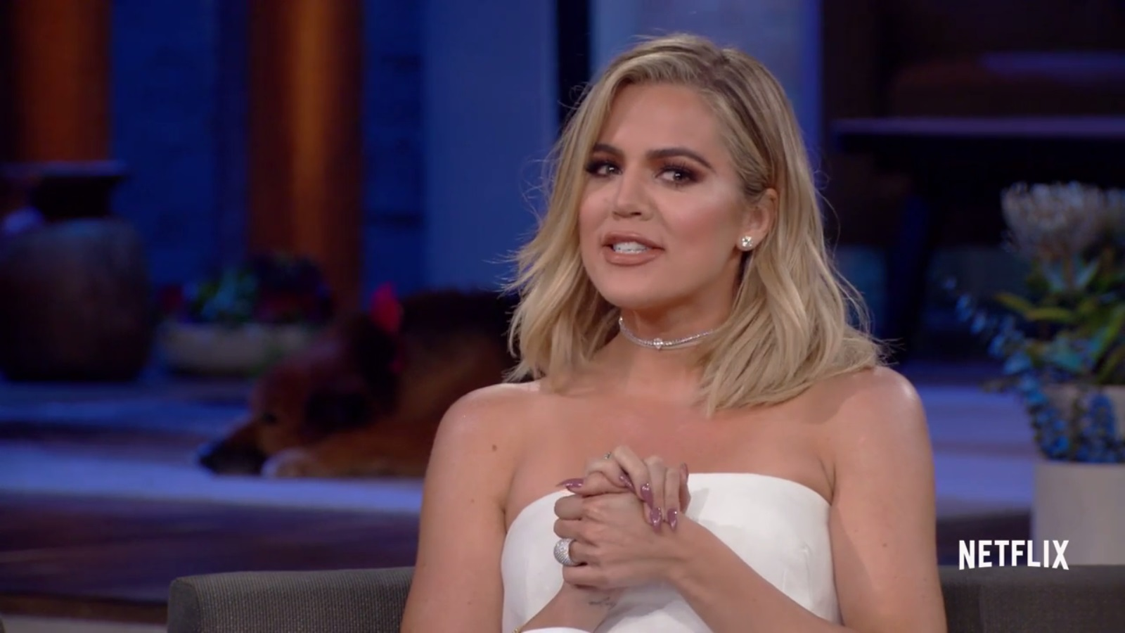 (VIDEO) Khloé  on Chelsea Handler show on Netflix