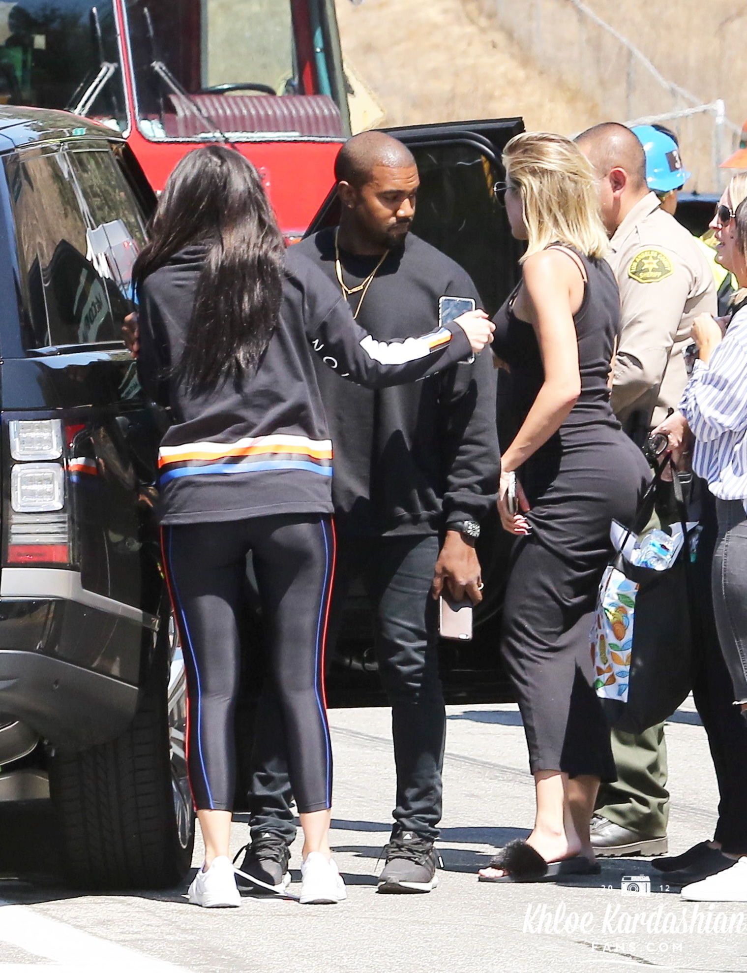 Kylie Jenner and Khloe Kardashian Rush to Kris Jenner's Side After Crash