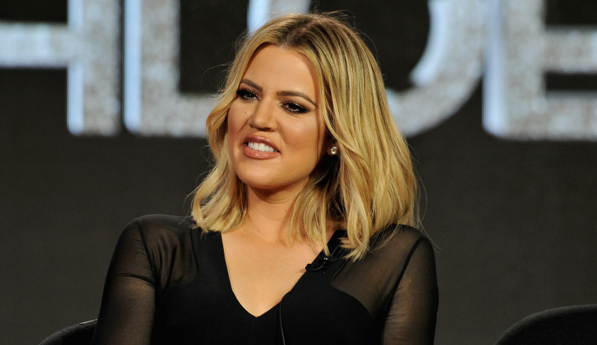 Khloe at the Fortune's 2016 Most Powerful Women Next Gen Summit Today