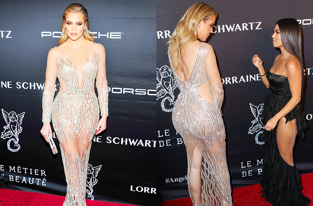 PHOTOS+VIDEO: Khloe Kardashian attend 2016 Angel Ball