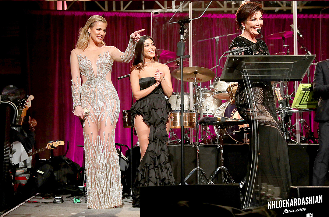 Inside at Angel Ball With Khloe, Kourtney and Kris