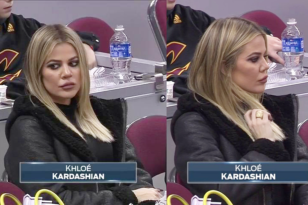 December 10, 2016 – PICS & VIDEO: Khloé at Cavs game