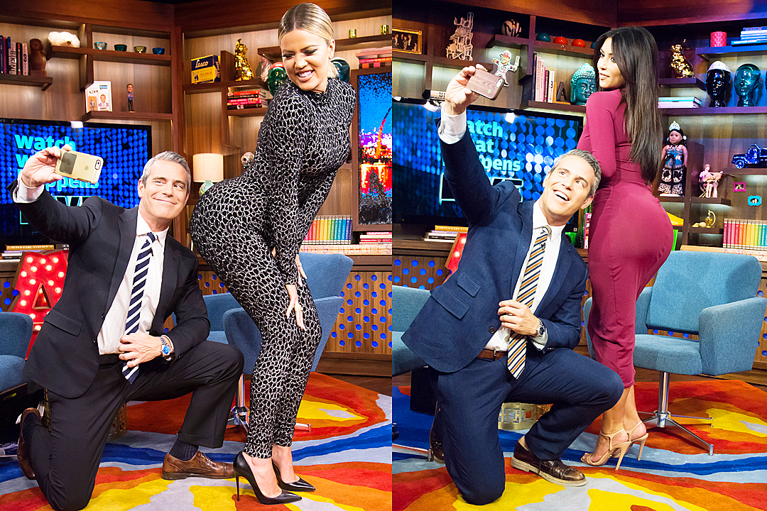 Andy Cohen talks about Khloe and Kim Kardashian