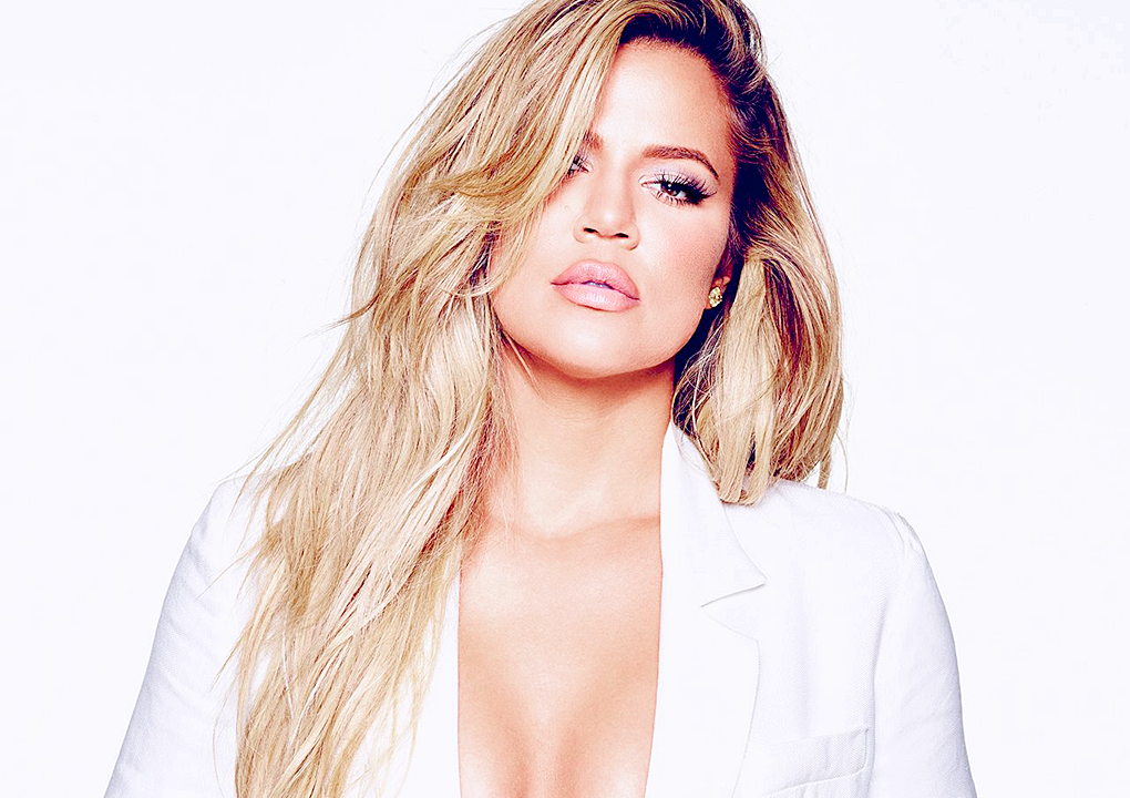 Khloé Kardashian on the Yahoo Top Searched Celebrity of the Year