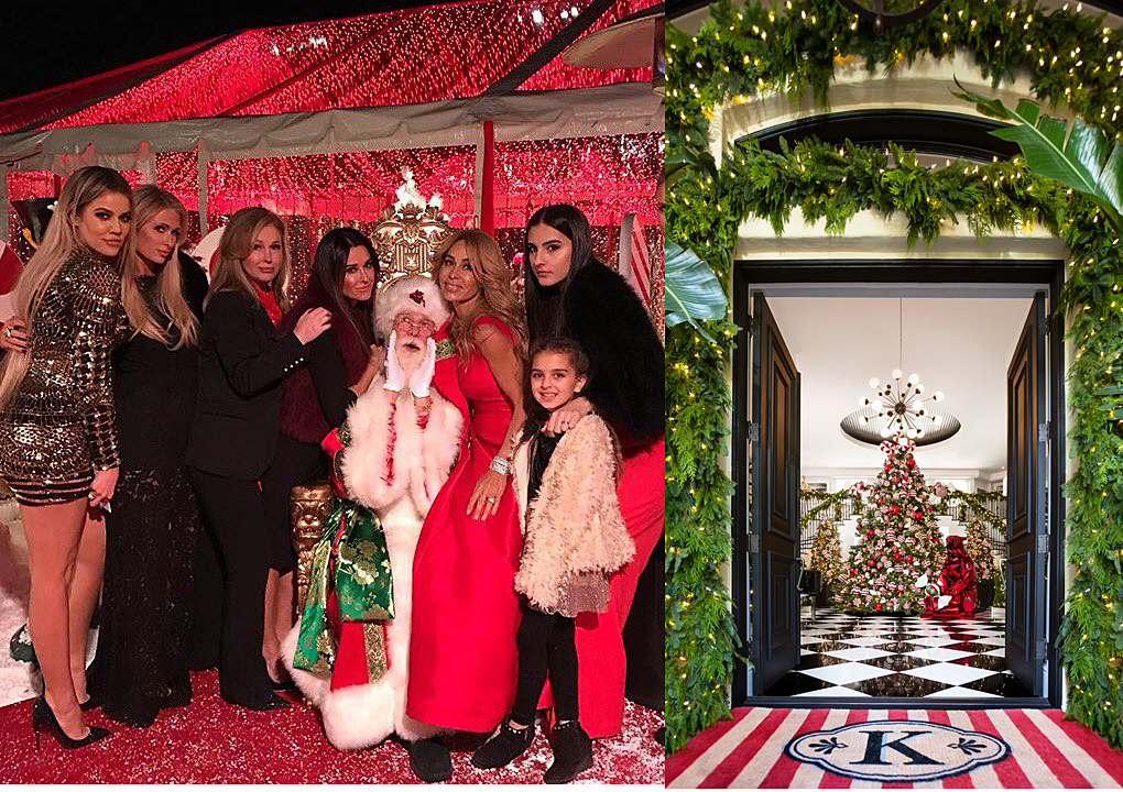 Khloe at the 2016 Kardashian/Jenner Christmas Eve Party