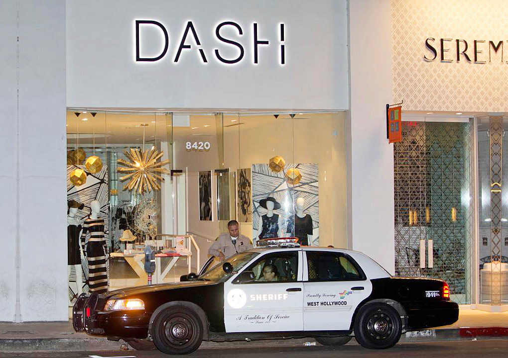 Kardashians Dash Store Robbed in Los Angeles