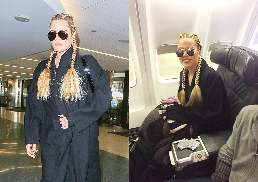 PHOTOS: Khloé at lax aiport to heading Cleveland