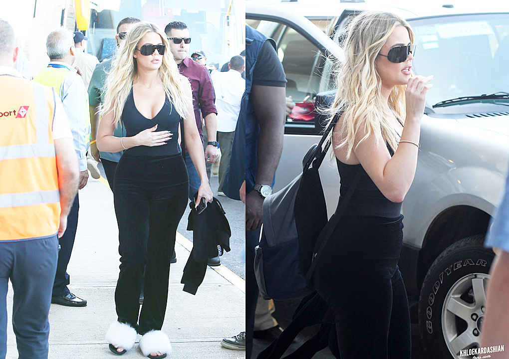 PHOTOS: Khloe Kardashian at Daniel Oduber airport in Liberica, Costa Rica
