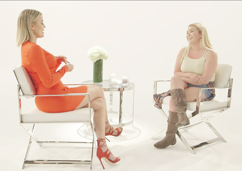 (VIDEO) Khloe Kardashian Meets Stephanie For Her Revenge Body