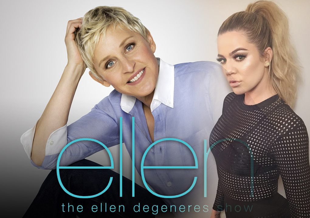 Khloé Kardashian will be on Ellen Degeneres show