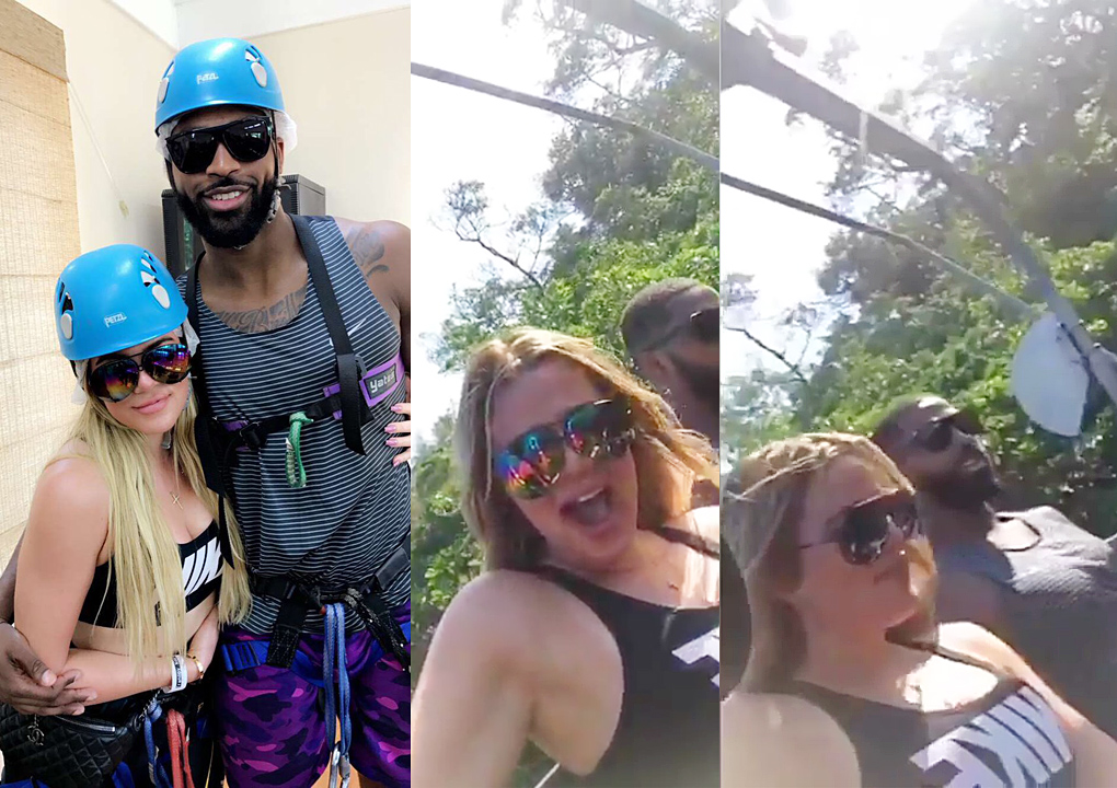 UPDATE:Tristan Thompson and Khloe Kardashian  in Jamaica for the all-star break