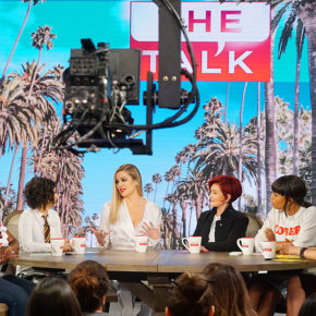 Khloe Kardashian at The Talk CBS