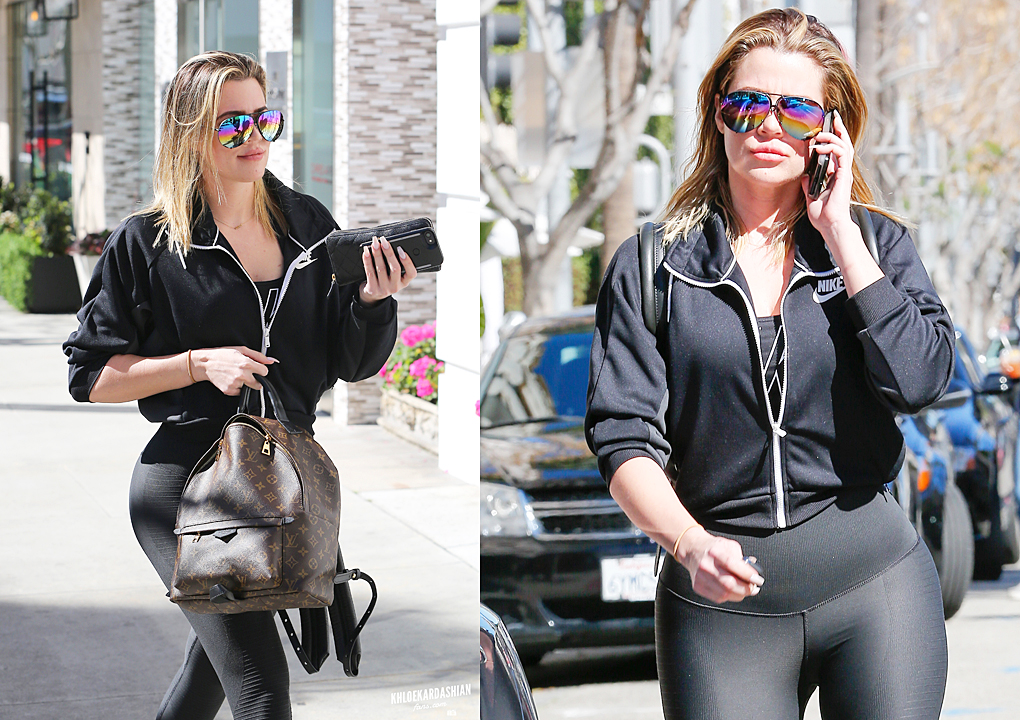 PHOTOS: Khloe lunch with friends in Beverly Hills