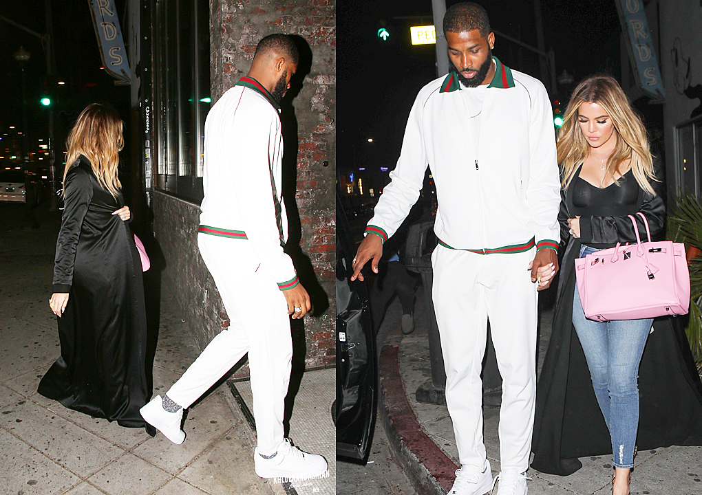 PHOTOS&VIDEOS [03/17]: Khloé and Tristan at The Montage Hotel and then go dinner