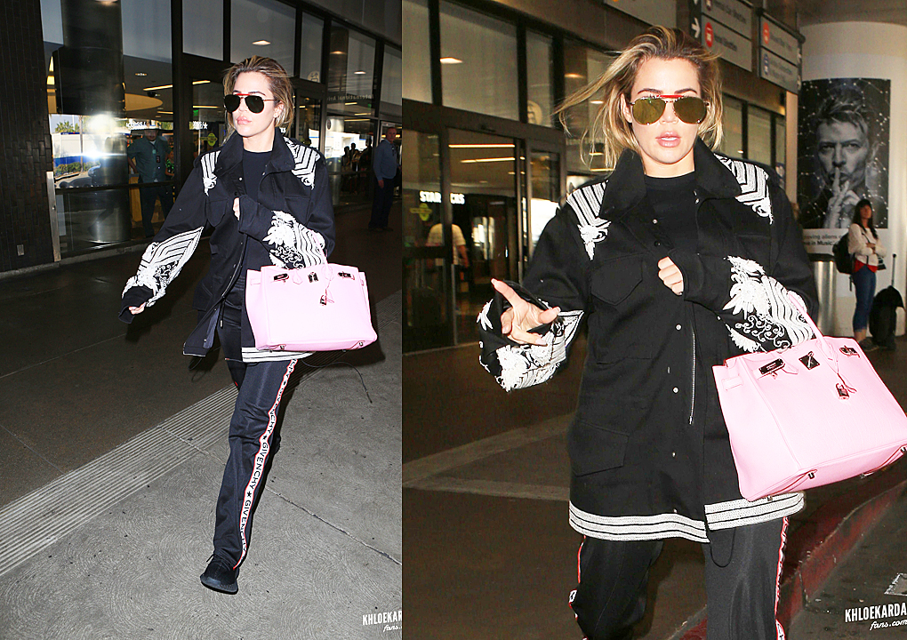 PHOTOS [03/17] Khloe at Lax airport