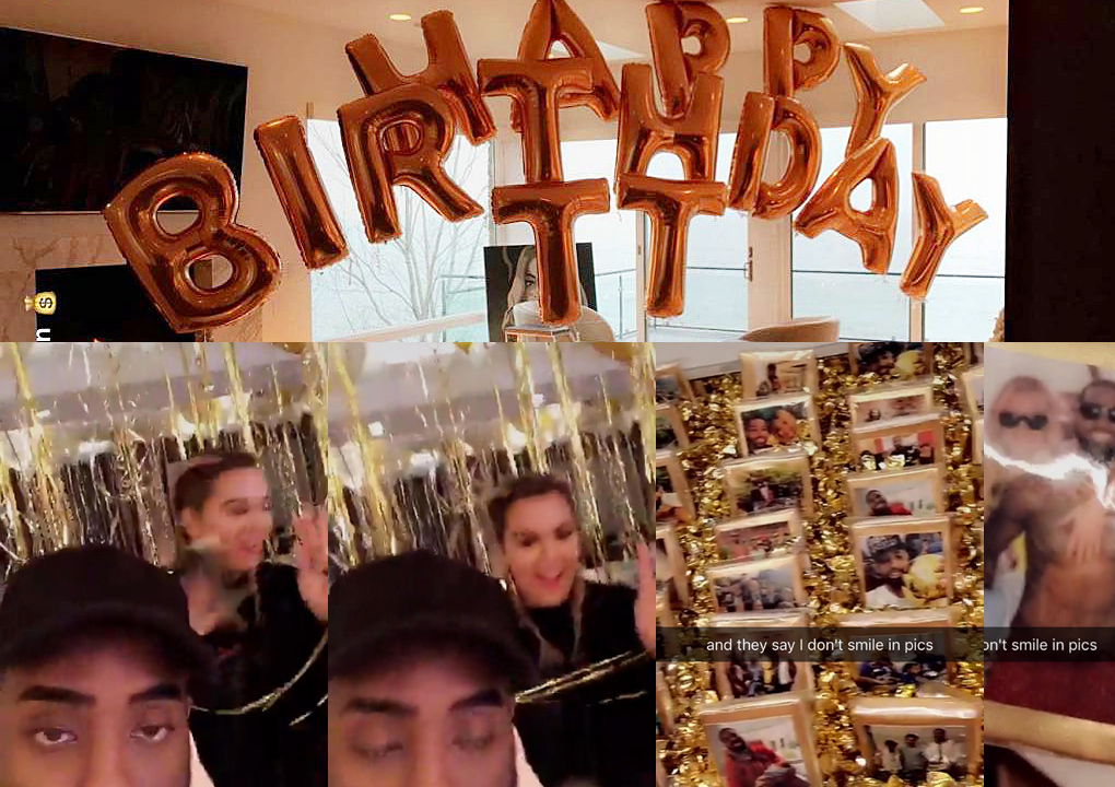 [UPDATE] Khloe Kardashian Celebrates Boyfriend Tristan Thompson's Birthday