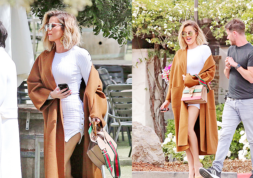 PHOTOS & VIDEO [04/25] Khloe & Kris Jenner at Malibu wines in Malibu