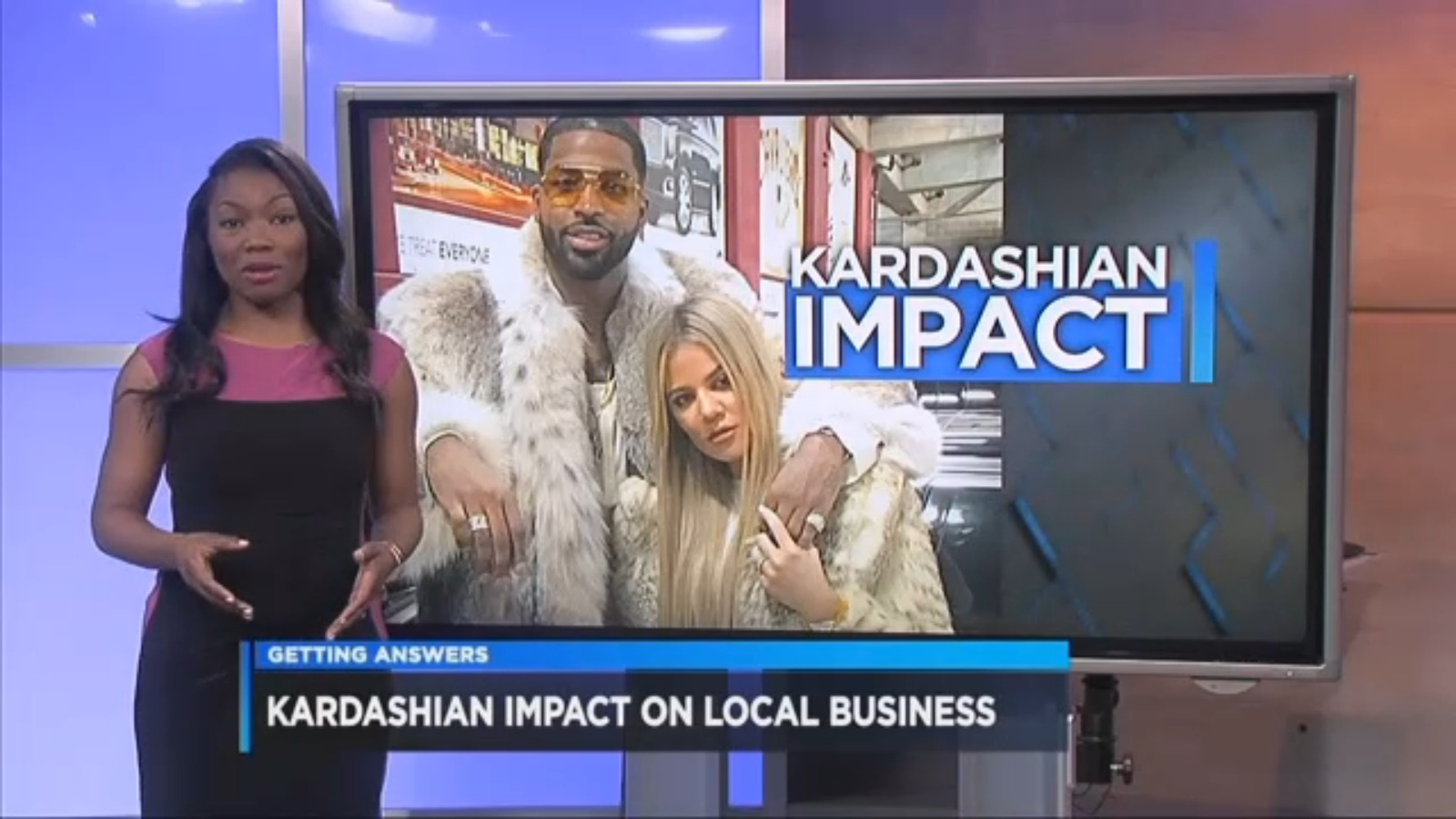 (VIDEO) Kardashian impact on area businesses in Cleveland?
