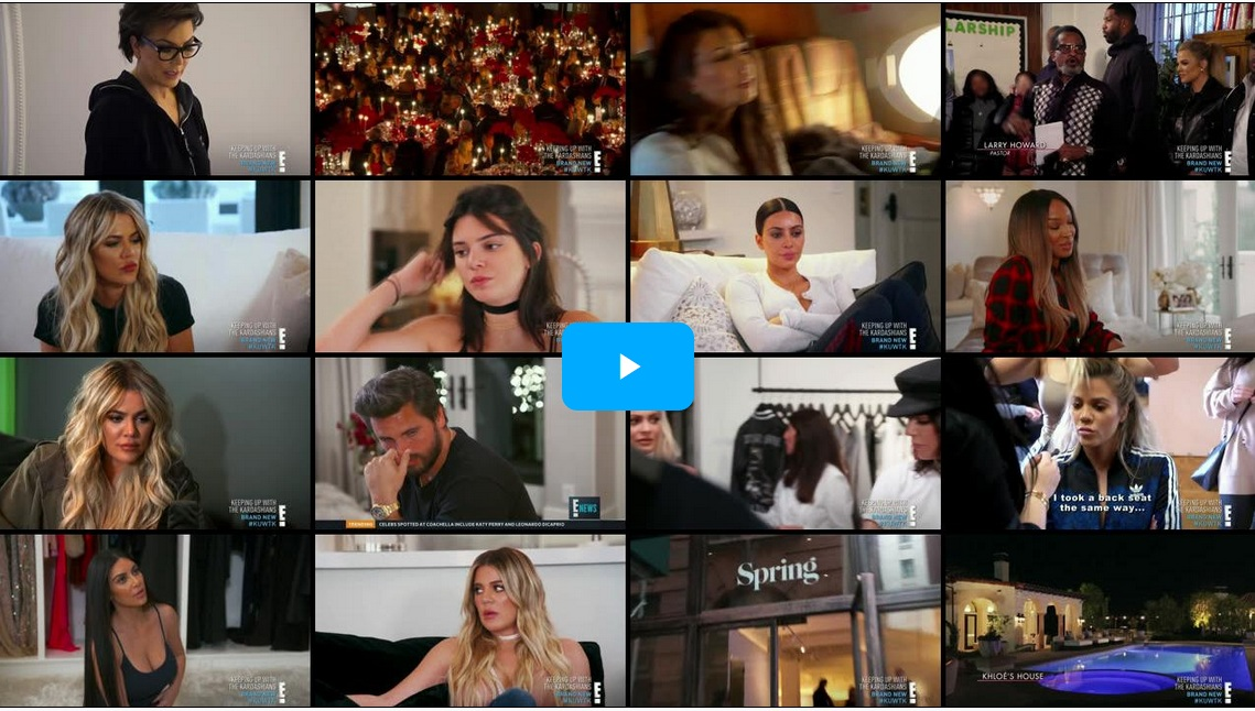 Keeping Up With The Kardashians – Episode 13.06 When It Rains, It Pours PT.2  – Video streaming, Caps & Ratings