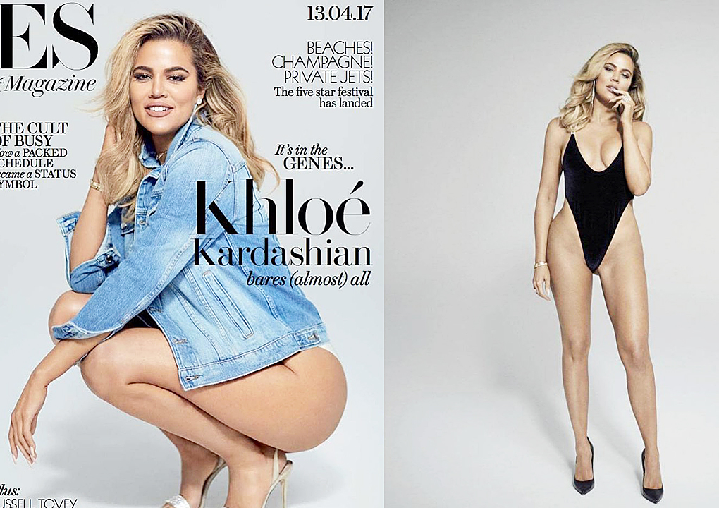 Khloe Kardashian Fansite insd PHOTOS+INTERVIEW: Khloé Kardashian cover Evening Standard Magazine