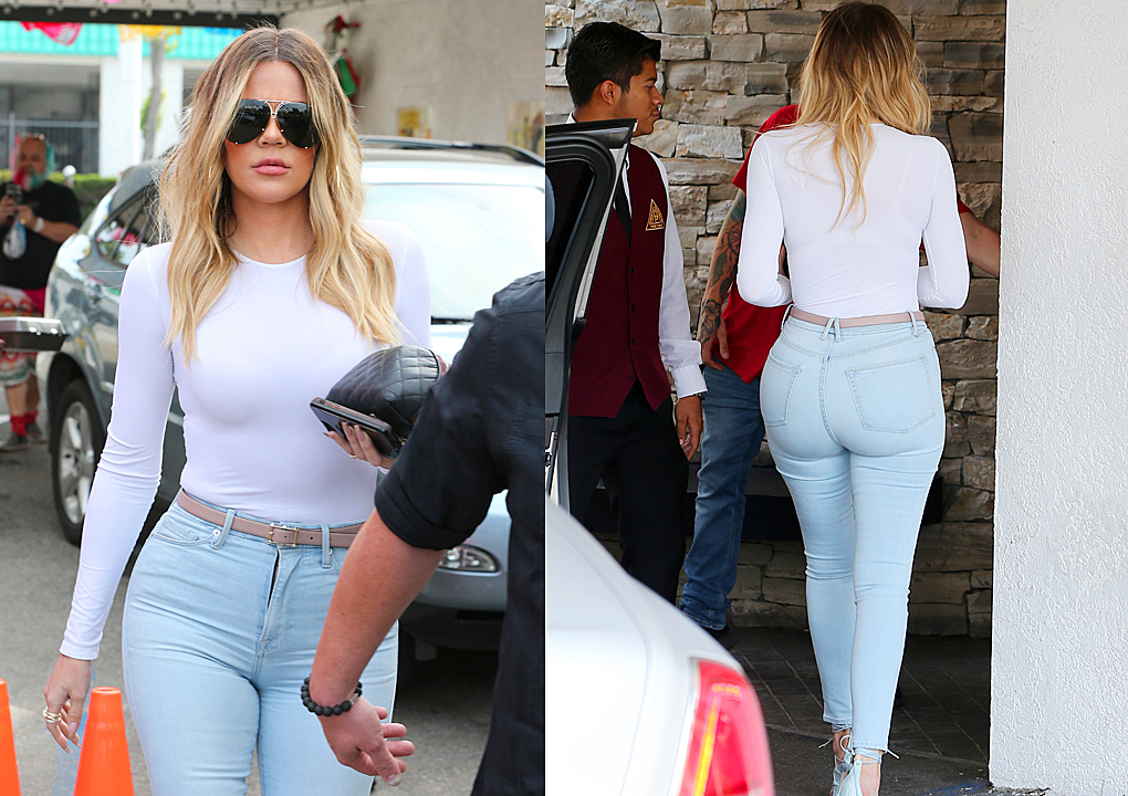 PHOTOS&VIDEO [05/05] Khloe Kardashian leaving Casa Vega in Sherman Oaks