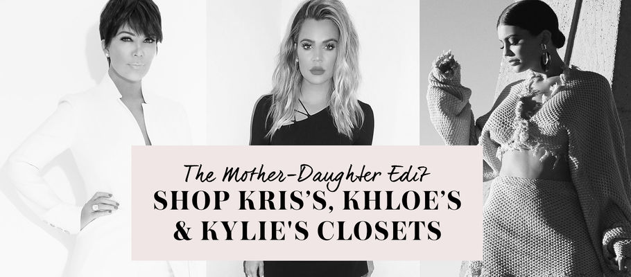 Kylie Jenner, Khloe Kardashian and Kris Open Their Closets for a Mother's Day Weekend Sale