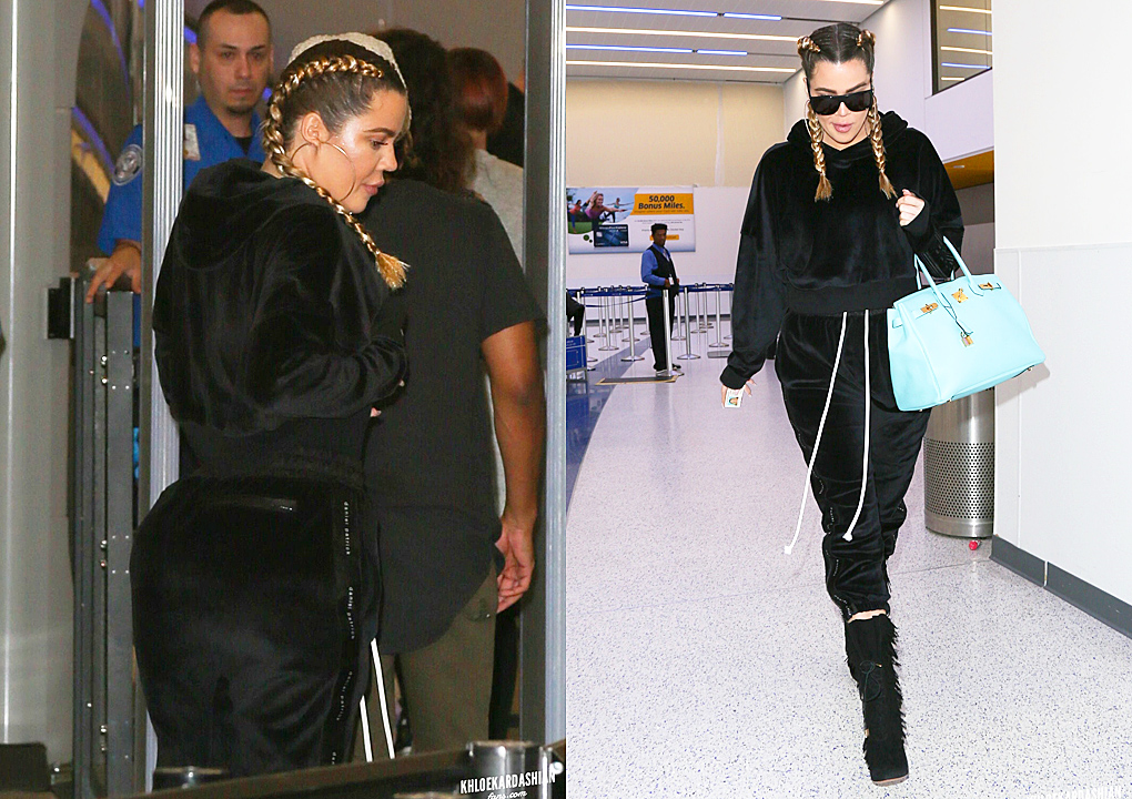 PHOTOS [05/27] Khloé arrives at Lax airport