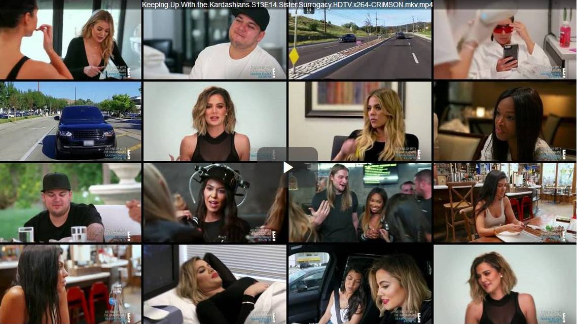 Keeping Up With The Kardashians – Episode 13.14 Sister Surrogacy – Video streaming, Caps & Ratings