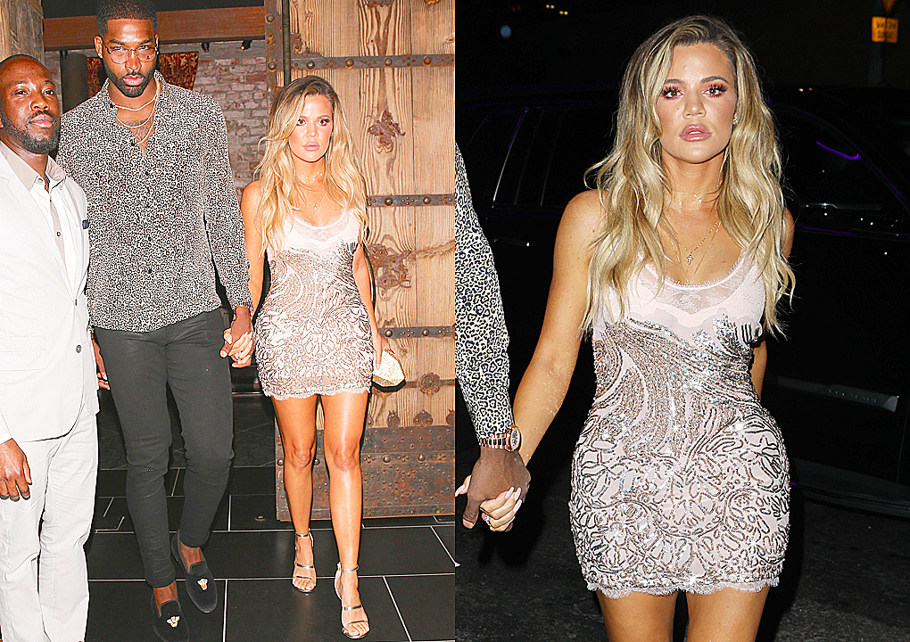 PHOTOS & VIDEO | June 25, 2017 – Khloe Kardashian & Tristan Thompson arriving at Blind Dragon for Khloe's surprise birthday